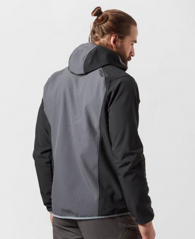 Men Grey Most Selling Softshell Jacket