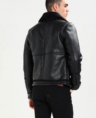 Men-High-Quality-Custom-Fur-Faux-Leather-Jacket