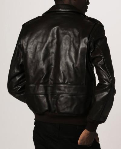 Men High Quality Custom Shearling Sheep Leather Jacket