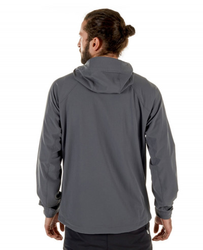 Men Hooded Softshell Jacket
