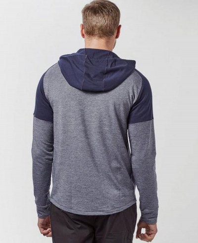 Men Hot Selling Custom Long Sleeve Grey Hoodie