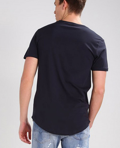 Men Longline Sport Custom Stylish Basic T Shirt