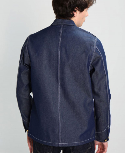 Men Navy Blue Most Selling Denim Jacket
