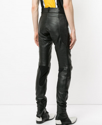 Men-Pencil-Pants-Boys-Punk-Rock-Trousers-Trendy-Faux