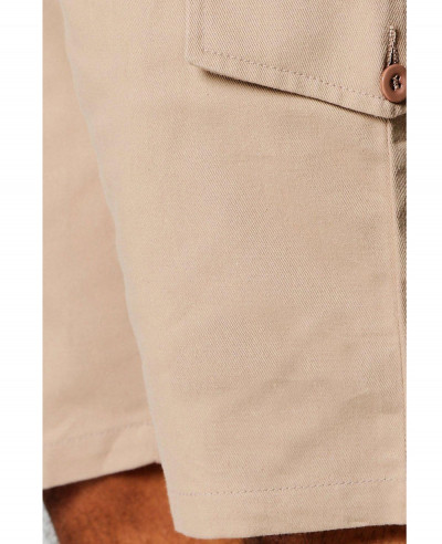 Men Slim Fit Cargo Shorts