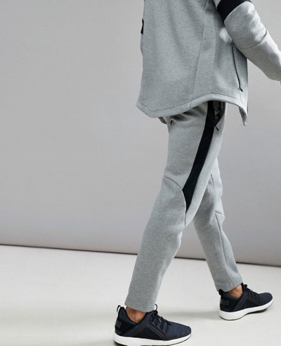 Men Stylish Sweatpant Joggers In Grey