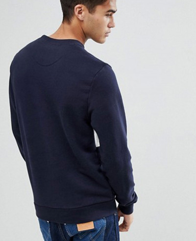 Men Sweatshirt in Navy