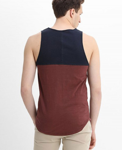 Men Vest Longline Hot Selling Custom Tank Top