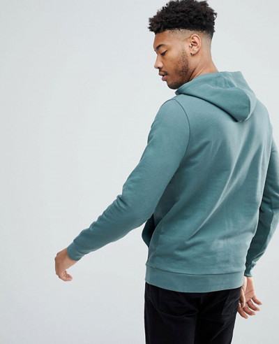 Men-Washed-Green-Pullover-Stylish-Hoodie