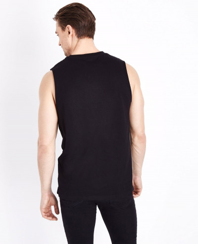 Most Selling Men Black Tank Top