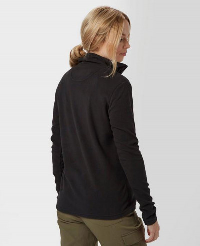 Navy Blue Half Zipper Grasmere Fleece Jacket