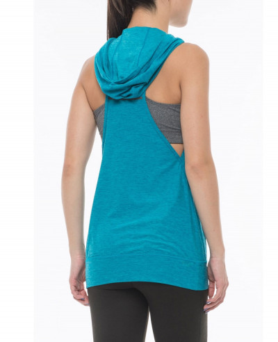 New Balance Hooded Racerback Tank Top