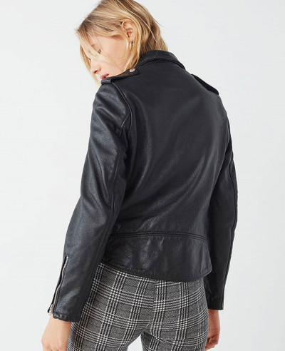 New Boyfriend Leather Moto Jacket