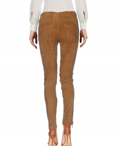 New-Cheap-Leather-Suede-Crop-Biker-Pant
