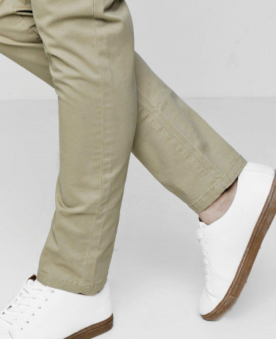 New Custom Slim Fit Chino Trousers With Stretch