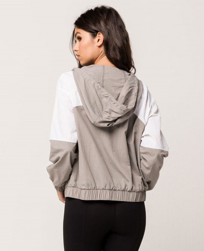 New-Design-Women-Windbreaker-Jacket