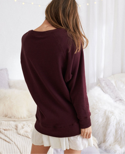 New-Fashion-Burgundy-Sexy-Hot-Sweatshirt