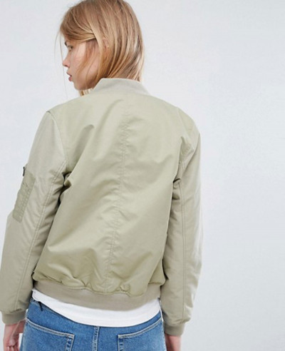 New Fashion Green Bomber Varsity Jacket