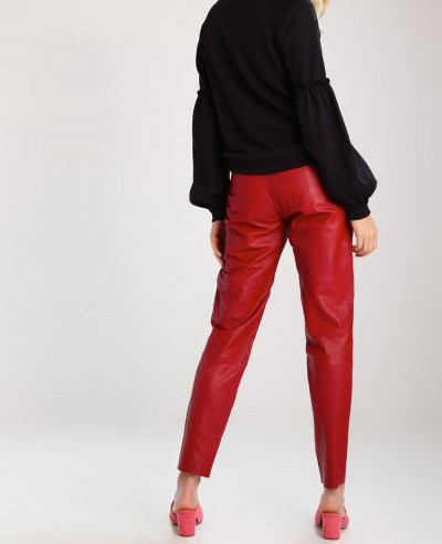 New-Fashion-Lambskin-Biker-Leather-Trouser-Pant