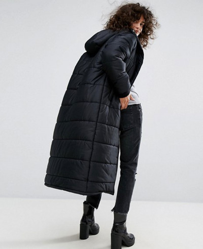 New Fashion Longline Padded Jacket
