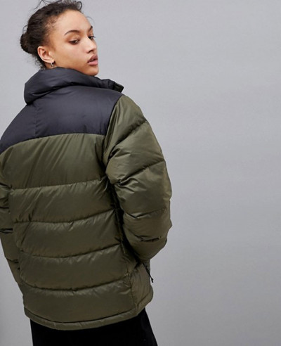 New Fashion Quilted Padded Jacket in Green