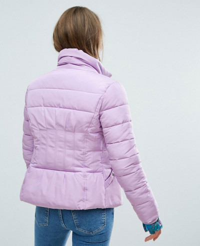 New Fashionable Custom Quilted Padded Jacket