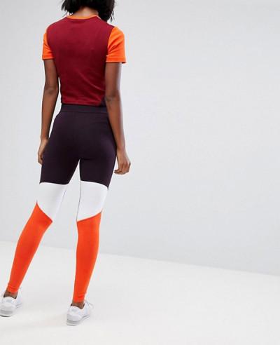 New Fashionable Women Colorblock Leggings