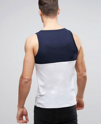 New Hot Selling Men Block Vest with Pocket