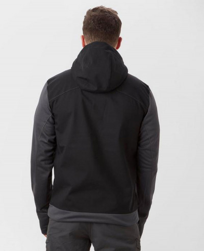 New-Hot-Selling-Men-Custom-Black-Softshell-Jacket