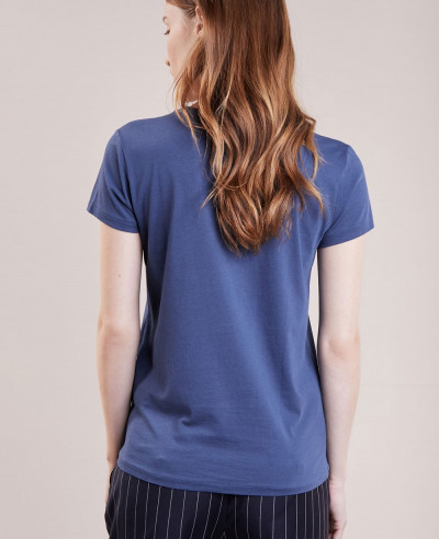 New Look Blue Basic T Shirt
