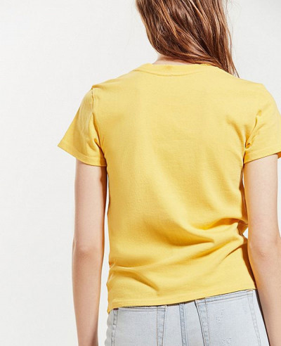 New Look Light Yellow T Shirt