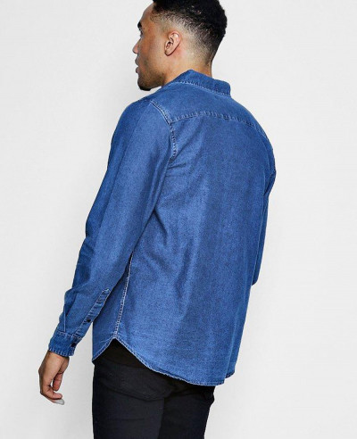 New Look Men Fashion Denim Shirt