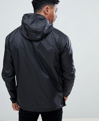 New Look Nicce London Overhead Windbreaker Jacket