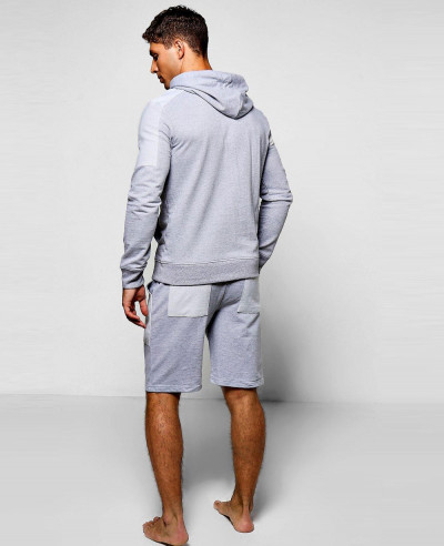 New Men Hot Selling Custom Short Tracksuit