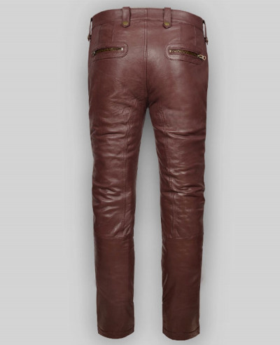 New-Mens-High-Quality-Custom-Leather-Autumn-Spring-Black-Fashion-Slim-Fit