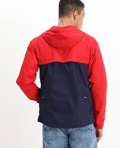 New Stylish Custom Colour Block Windbreaker Jacket