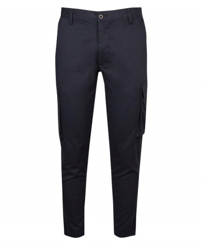 New Stylish Men Cropped Slim Fit Cargo Trouser