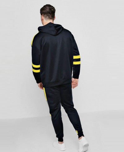 New Stylish Oversized Moto Tracksuit In Tricot