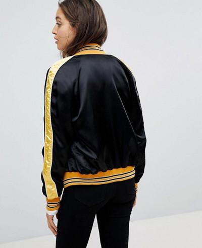 New-Stylish-Satin-Bomber-Varsity-Jacket