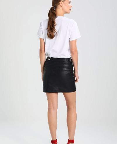 New-Stylish-Women-Custom-Leather-Mini-Skirt