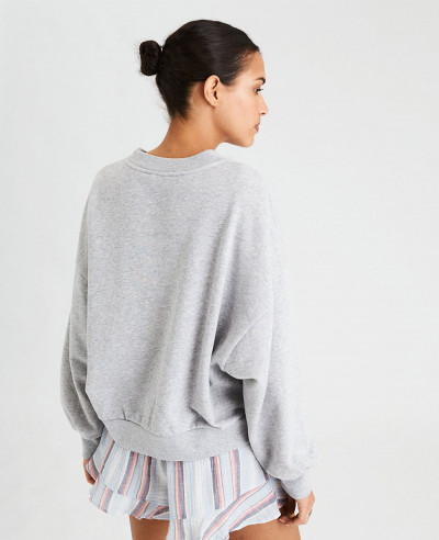 Oversized-Drop-Armhole-Crew-Neck-Sweatshirt