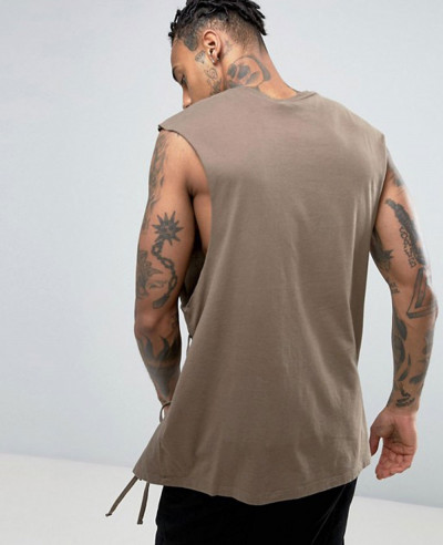 Oversized Sleeveless Most Selling Men Custom Tank Top