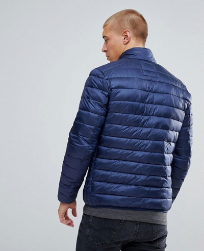 Padded Jacket In Navy