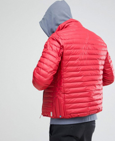 Padded Mid Layer Jacket in Red