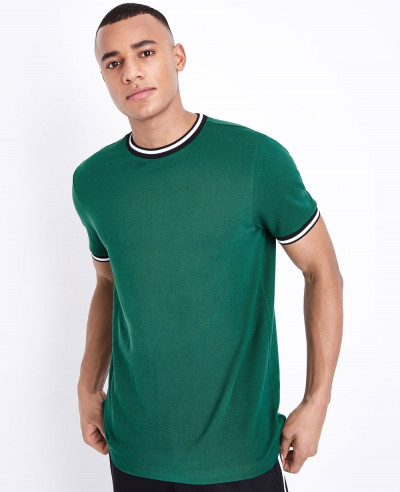 Pk-Green-Tipped-Fashion-Sport-Stylish-Custom-T-Shirt