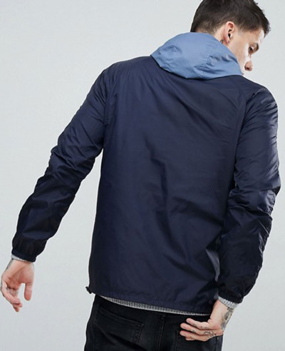 Pretty Green Reedbank Jacket in Blue Windbreaker Jacket