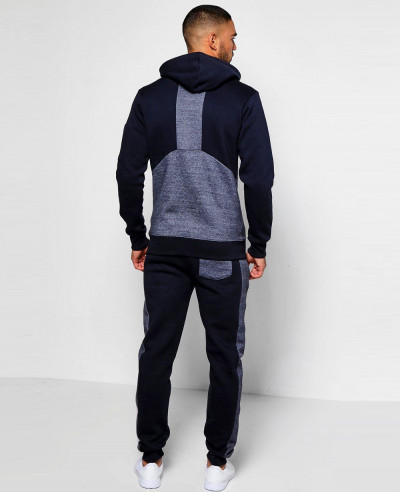 Skinny-Fit-Panel-Hooded-Tracksuit