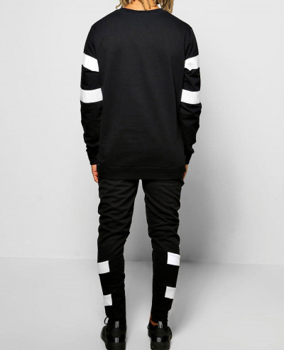 Skinny Fit Panel Joggers