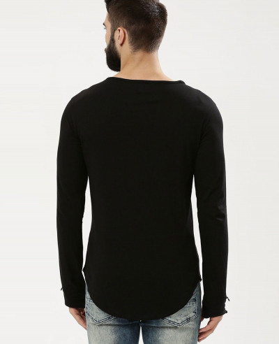 Square-Neck-With-Thumbhole-T-Shirt
