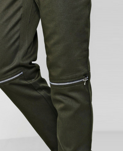 Twill-Zipper-Knee-Jogger-Style-Trousers